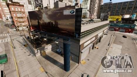Concessionnaire BMW pour GTA 4 secondes d'écran