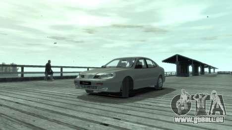 Daewoo Leganza für GTA 4 linke Ansicht