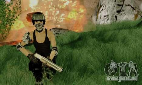 SWAT GIRL pour GTA San Andreas deuxième écran