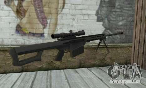 M82A3 für GTA San Andreas zweiten Screenshot