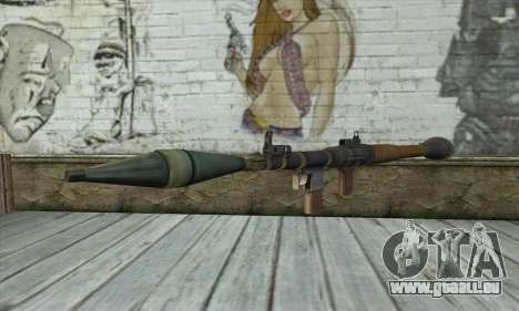 Rocket launcher für GTA San Andreas