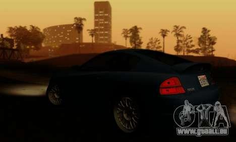Fusilade GTA V pour GTA San Andreas vue de dessus