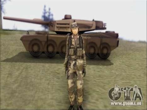 Les soldats De La République populaire De Chine pour GTA San Andreas