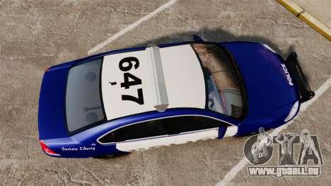 Chevrolet Impala 2008 LCPD [ELS] pour GTA 4 est un droit