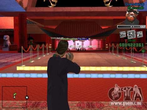C-HUD by Misterio pour GTA San Andreas quatrième écran