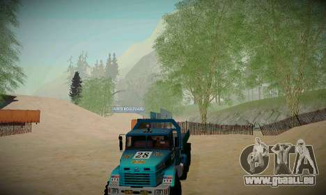 Piste off-road pour GTA San Andreas septième écran
