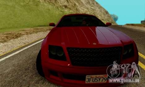 Fusilade GTA V pour GTA San Andreas laissé vue