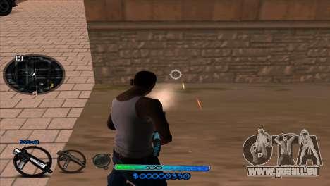 C-HUD Slow pour GTA San Andreas quatrième écran