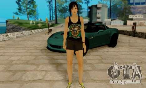 Kokoro A7X pour GTA San Andreas quatrième écran