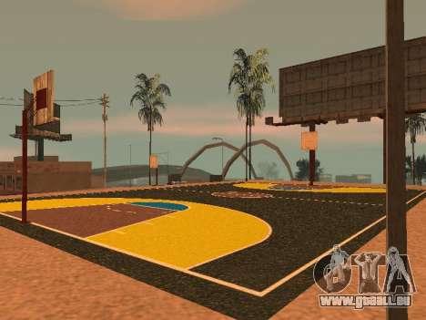 Terrain de basket pour GTA San Andreas septième écran