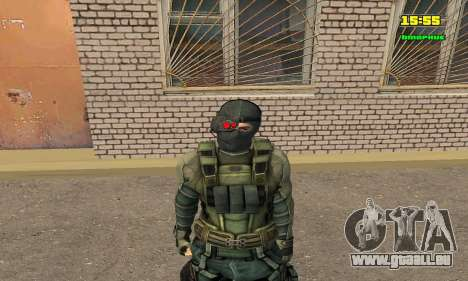 Кестрел Splinter Cell Conviction pour GTA San Andreas
