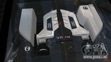 Audi R8 v1.1 pour GTA 4 est un côté
