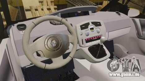 Renault Espace Police Nationale [ELS] für GTA 4 Innenansicht