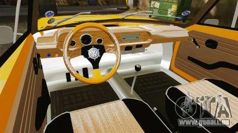Volkswagen SP2 für GTA 4 Rückansicht