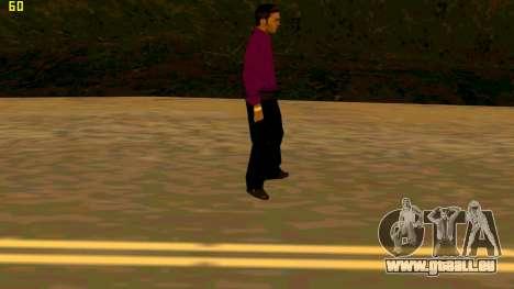 La nouvelle texture shmycr pour GTA San Andreas troisième écran