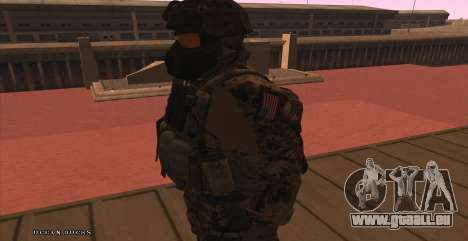 Global Defense Initiative Soldier für GTA San Andreas sechsten Screenshot