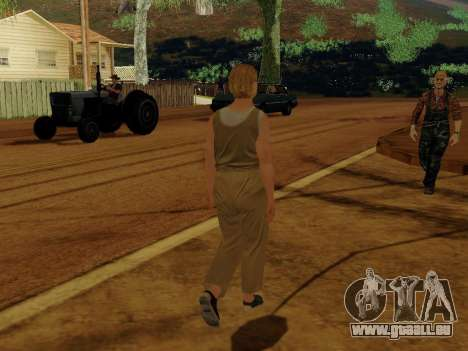 Ältere Frau für GTA San Andreas her Screenshot
