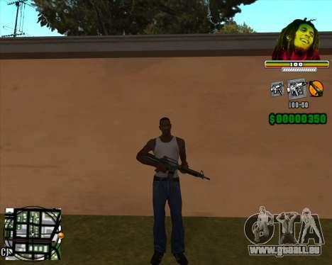 C-HUD Bob Marley pour GTA San Andreas