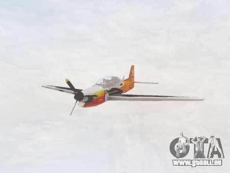 Embraer T-27 Tucano 30 Anos für GTA San Andreas