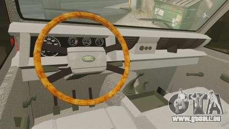 Land Rover Defender VLHR SDIS 42 [ELS] pour GTA 4 Vue arrière