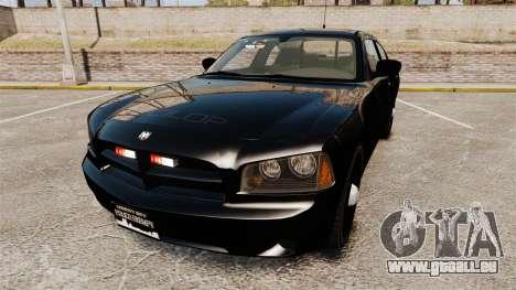 Dodge Charger Slicktop Police [ELS] für GTA 4