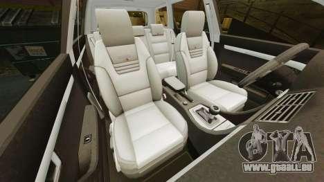 Audi S4 Avant Hungarian Police [ELS] pour GTA 4 vue de dessus