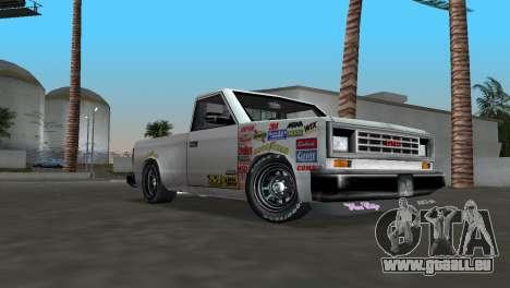 Bobcat Turbo pour une vue GTA Vice City de la gauche
