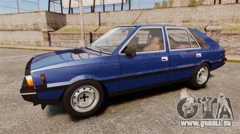 FSO Polonez 1500 pour GTA 4 est une gauche