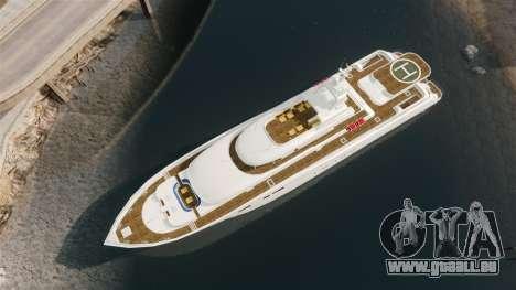 Plein de yacht pour GTA 4 est un droit