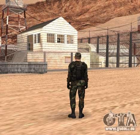 Army HD pour GTA San Andreas deuxième écran