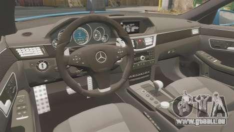 Mercedes-Benz B63 S Brabus pour GTA 4 est une vue de l'intérieur