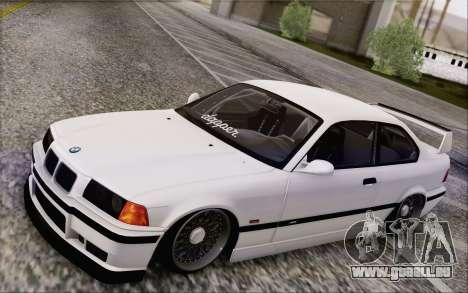 BMW M3 E36 Hellaflush pour GTA San Andreas