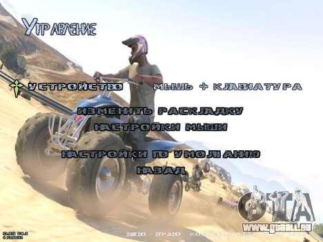 New Menu GTA 5 für GTA San Andreas fünften Screenshot