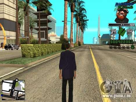 C-HUD by Misterio pour GTA San Andreas deuxième écran