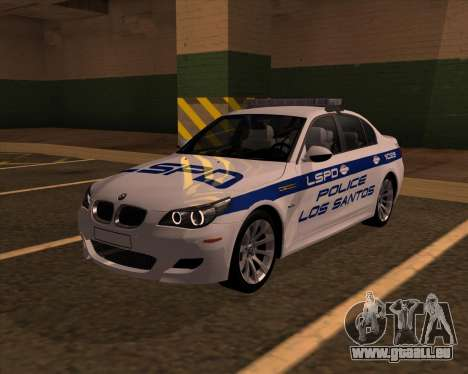 BMW M5 E60 Police LS für GTA San Andreas