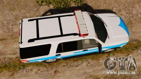 Ford Expedition Japanese Police SSV v2.5F [ELS] pour GTA 4 est un droit