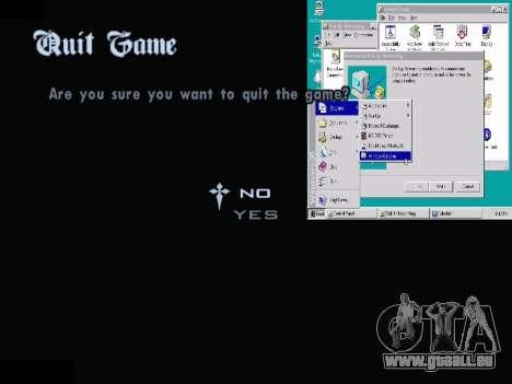 Le Menu Windows pour GTA San Andreas huitième écran