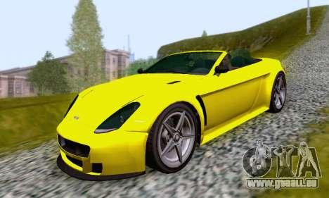 GTA V Rapid GT Cabrio für GTA San Andreas