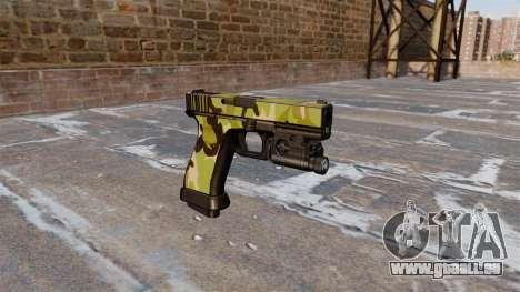Pistolet Glock 20 WoodLand pour GTA 4