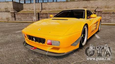 Ferrari Testarossa 512 TR v2.0 pour GTA 4