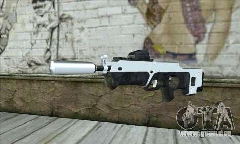 F6 Assault Rifle für GTA San Andreas