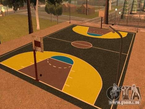 Terrain de basket pour GTA San Andreas deuxième écran
