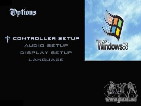 Le Menu Windows pour GTA San Andreas quatrième écran
