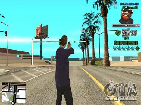 C-HUD by Misterio für GTA San Andreas dritten Screenshot