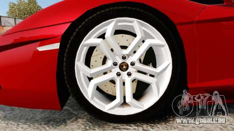 Lamborghini Aventador LP700-4 2012 [EPM] für GTA 4 Rückansicht