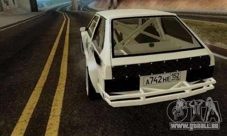 VAZ 2108 RDA pour GTA San Andreas vue de droite