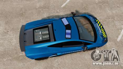 Lamborghini Gallardo Gendarmerie National [ELS] pour GTA 4 est un droit