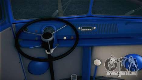 Volkswagen T1 Milicija pour GTA San Andreas vue arrière