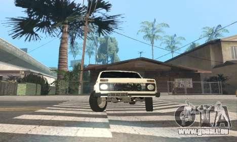 VAZ 21214 Avtosh für GTA San Andreas Innenansicht