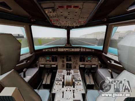Airbus A320 Air China für GTA San Andreas rechten Ansicht